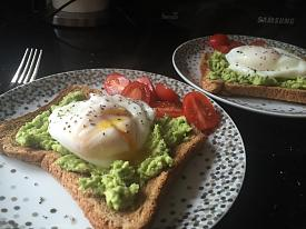 Avocado and poached egg  - Lunch idea-avegtoast.jpg