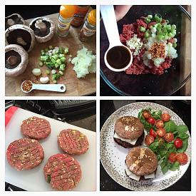 Homemade Spicy Chilli Burgers - Portobello Mushroom Buns-mushroomburgers.jpg