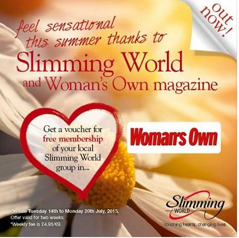 Slimming World And Womans Own Mag Voucher For Free